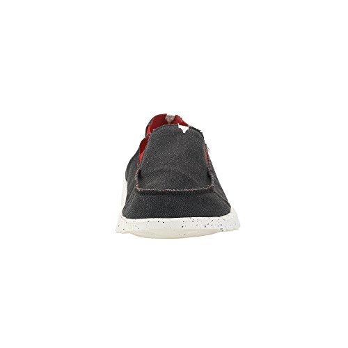 Black collo A Shoes Dude basso uomo qFaXw6x