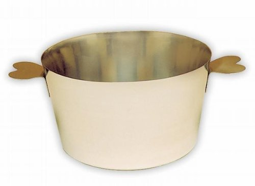 Matfer Bourgeat 341422 Charlotte Molds Stainless Steel without Lid