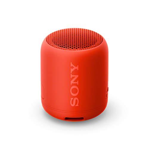 Sony Srs-Xb12 Bluetooth Luidspreker (Draagbaar, Draadloos, Extra Bas, Waterafstotend) Rood