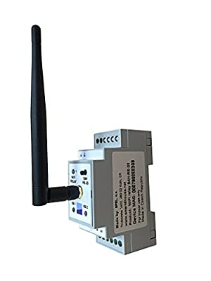 DIN Rail WiFi Relay for iOS and Android, Wireless