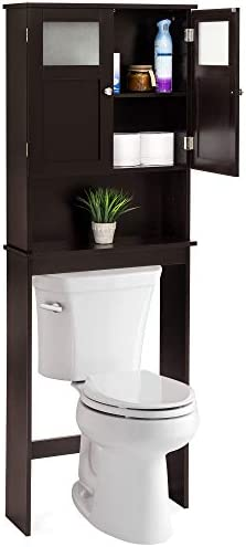 picture of Best Choice Products Wooden Over-The-Toilet Space Saving Cabinet