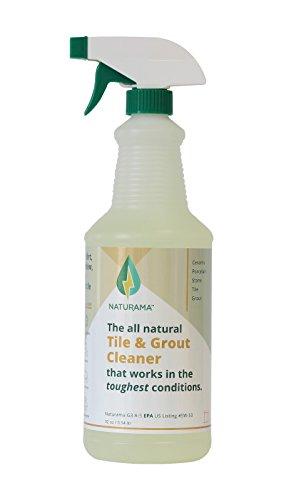 Tile Grout Cleaner - Rejuvenate Kitchen Floor, Bathroom Floors, Tiles - Heavy Duty Mold and Grime Remover (32 OUNCES) ()