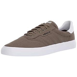 adidas Originals Men's 3MC Regular Fit Lifestyle Skate Inspired Sneakers Shoes, raw khaki/raw khaki/white, 12 M US