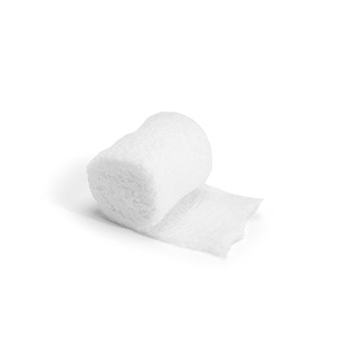 MediChoice Gauze Roll Bandage, 3-Ply, Non-Sterile, 2 inch x 4 Yards, White, 1314GZBN2001 (Case of 96)