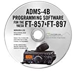 Software : Yaesu ADMS-4B Programming Software on CD with USB Computer Interface Cable for FT-857D & FT-897D by RT Systems