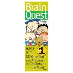 Brain Quest Card Deck (Brain Quest Card Deck - 1st Grade)