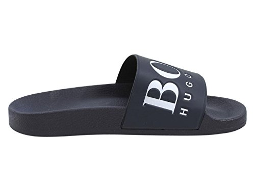 Hugo Boss Men's Solar Slide Sandal Dark Blue cheap sale with mastercard UuApRK4