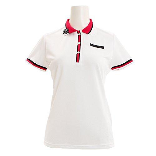 半袖ポロシャツ レディース ジュン&ロペ JUN&ROPE 2018 春夏 ゴルフウェア S(S) ホワイト(10) erm3808