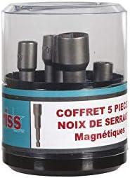 7 mm Noix de serrage magn/étique 1//4