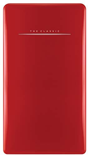 affordable Daewoo FR-044RCNR Retro Compact Refrigerator 4.4 Cu. Ft. | Pure Red