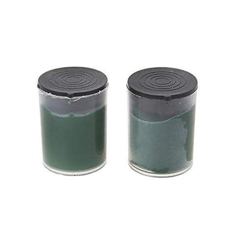 Maslin 2pcs Metal Polishing Paste Chromium Oxide Lapping