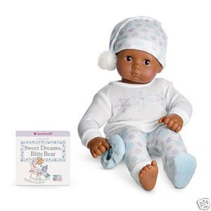 e93f63f79 Amazon.com  American Girl Bitty Baby Snowy Dreams Pjs  Toys   Games