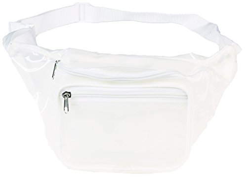 Funny Guy Mugs Clear Transparent Fanny Pack, White]()