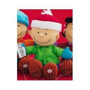 Hallmark 2011 Picking the Perfect Gift - Charlie Brown - Peanuts Gang Techno Plush from Hallmark