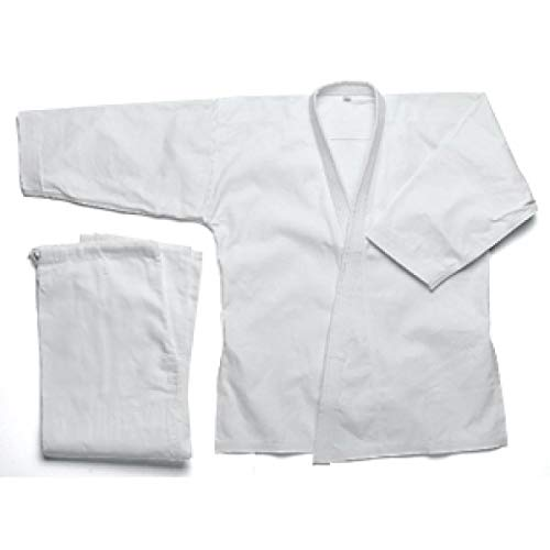 Karate Uniform 10 oz (Medium Weight), Black - 7 10 Ounce Karate Uniform
