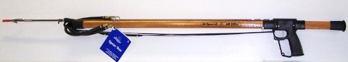 AB Biller Mahogany 48 Special Wood Spear Gun, Mahogany (Best Wood For Spear Shaft)