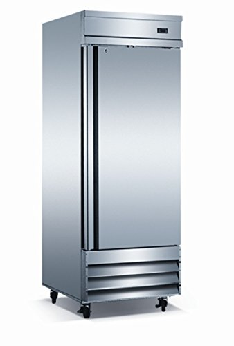 """Price comparison product image EQ Kitchen Line CFD-1FF 1 Door Commercial Reach-In Freezer, 172 gal , 82.5"""" Height, 32.25"""" Width, 29"""" Length"""