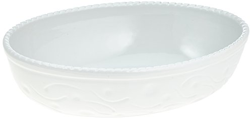 Oval Dishhighfluted Porcelain