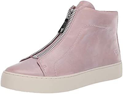 FRYE Women's Lena Zip High Fashion Sneaker