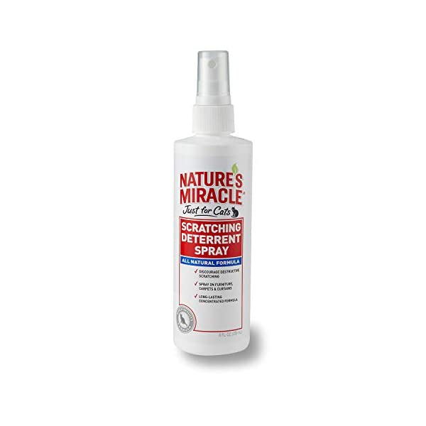 Nature's Miracle No-Scratch Cat Deterrent Spray 1