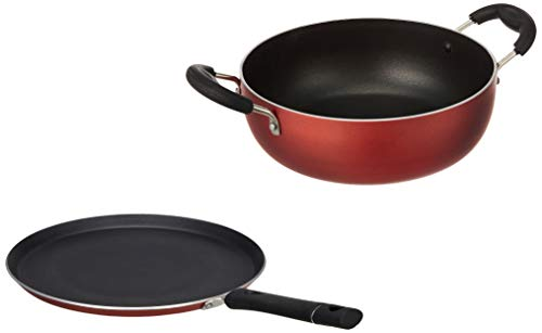 Amazon-Brand-Solimo-2-Piece-Cookware-Set-with-2-Way-Non-Stick-Coating-Induction-and-Gas-Compatible