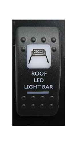 AMBER COLOR CAN AM STYLE SWITCH ROOF LIGHT BAR #AC-CA-RLB ()