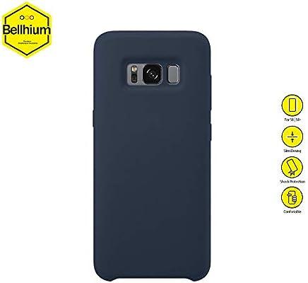 Bellhium Funda de Silicona para Samsung Galaxy S8, S8 Plus, S9, S9 ...