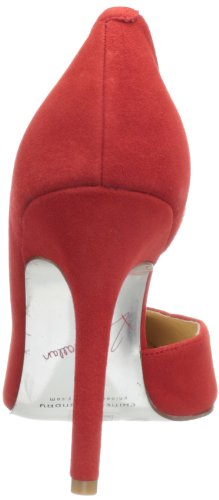 Chinese Laundry Kristin Cavallari Womens Copertina Pump Red Suede 2rIaZFkDq