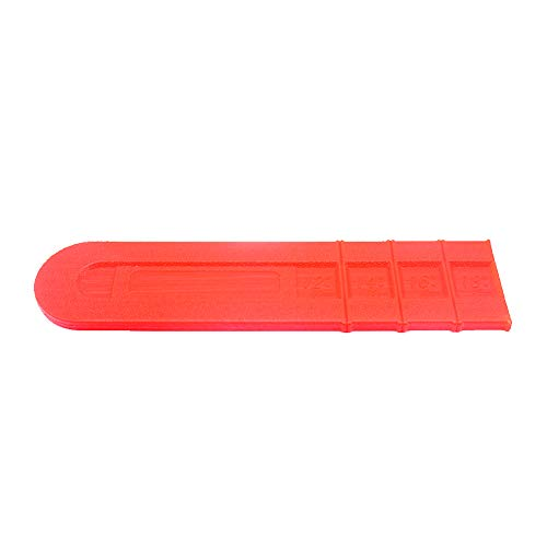 - YOEDAF Chainsaw Guide Bar Cover, 18inch Scabbard Guard Plastic Cutter Chain Saw Cover Blade Protector Guide Plate Replacement Part(Orange)