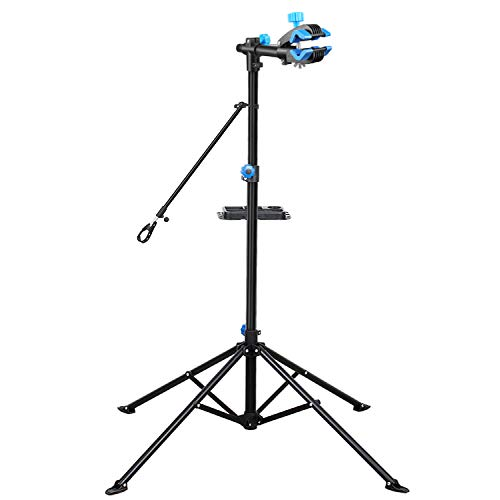 Flexzion Bike Repair Stand Workstation, Bicycle Maintenance Workstand, 41