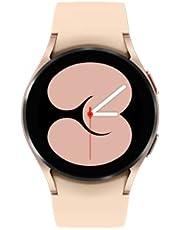 ساعة سامسونج جالاكسي 4 40 ملم بتقنية بلوتوث، بينك وذهبي