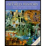 World History, Before 1600: The Development of Early Civilizations, Vol. 1 - Textbook only