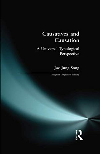 Causatives and Causation (Longman Linguistics Library)