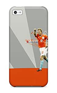 High Grade Mary Medrano Flexible Tpu Case For Iphone 5c - Dirk Kuyt