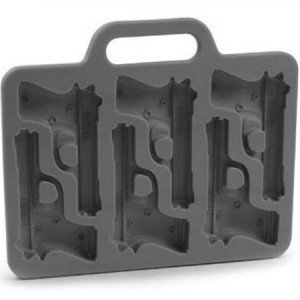 Christmas Time Freeze Handgun-Shaped Ice-Cube Tray