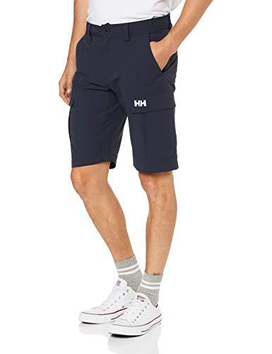 Helly Hansen Men's Jotun Quickdry 11-Inch Cargo Shorts, Navy, 34 - Helly Hansen Clothes