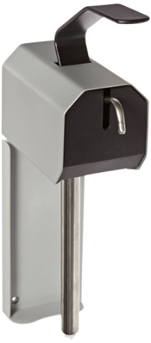 Impact 1310 Lotion and Grit Lotion Soap Dispenser, 9-1/2'' Length x 4'' Width x 17-1/4'' Height, Gray/Black (Case of 10) by Impact Products