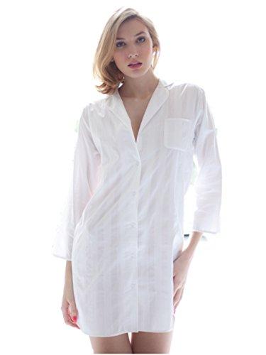 Cotton Real -  Camicia da notte  - Donna