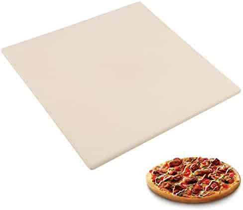 """Waykea 10"""" x 10.4"""" Pizza Stone for Toaster Oven 