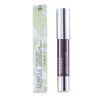 Clinique Chubby Stick Shadow Tint for Eyes, 11 Portly Plum, 0.1 Ounce