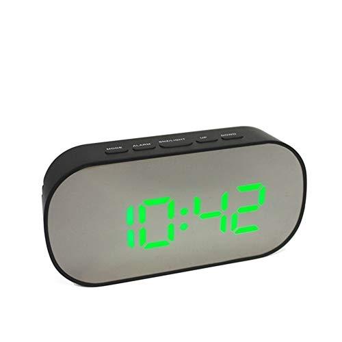 YOUNIU-Alarm Clocks Espejo Despertador Reloj Digital Repetir la ...