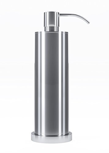 Kennedy Reese Collection Modern Luxury Chrome Soap Dispenser - 100% Guaranteed Warranty Made Materials (Brass & Chrome) for The Discerning Consumer - Introductory Price Won't (Introductory Collection)