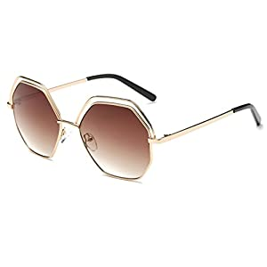 Konalla Polygon lenses Sunglasses Geometric Cutouts Women's Eyewear C4