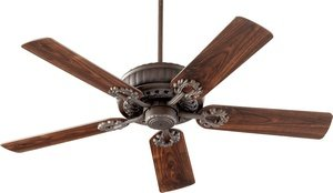 Quorum International 35525-86 Fan, Oiled ()