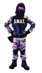 Child S.W.A.T. Costume - Small (4-6) -