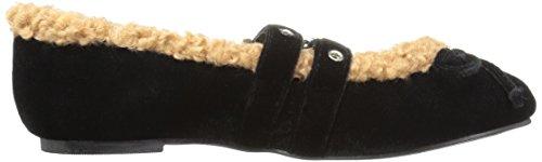 Black Loves Penny Velvet Schuhe Flache Frauen Kenny pBXUS