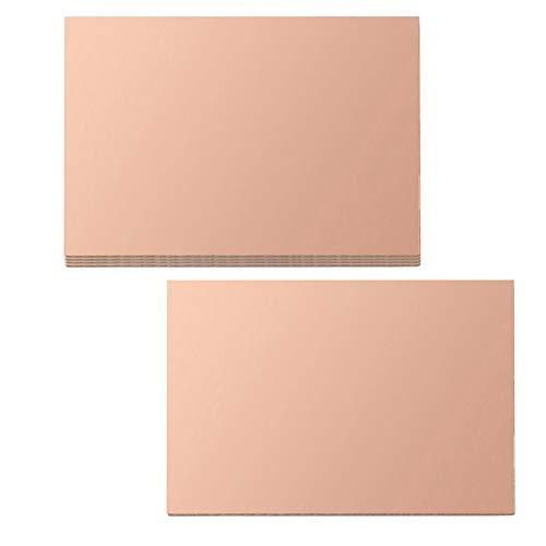 Single Sided Copper Clad Laminate PCB Circuit Board 6x6