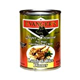 Evanger's Super Premium For Dogs Lamb and Rice Dinner, 12-Pack, My Pet Supplies