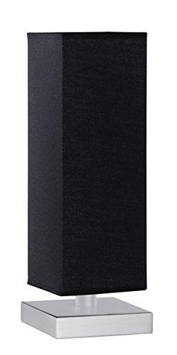 Trio 5914011-02 Serie 5914 - Sobremesa, bombilla excluida, E14, 60 W, 230 V, A++, E, IP20, 35,5 x 12 x 12 cm, metal, níquel mate
