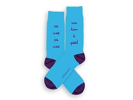 Calcetines de mensaje de Un km de pie-Patines en línea talla 27 31-